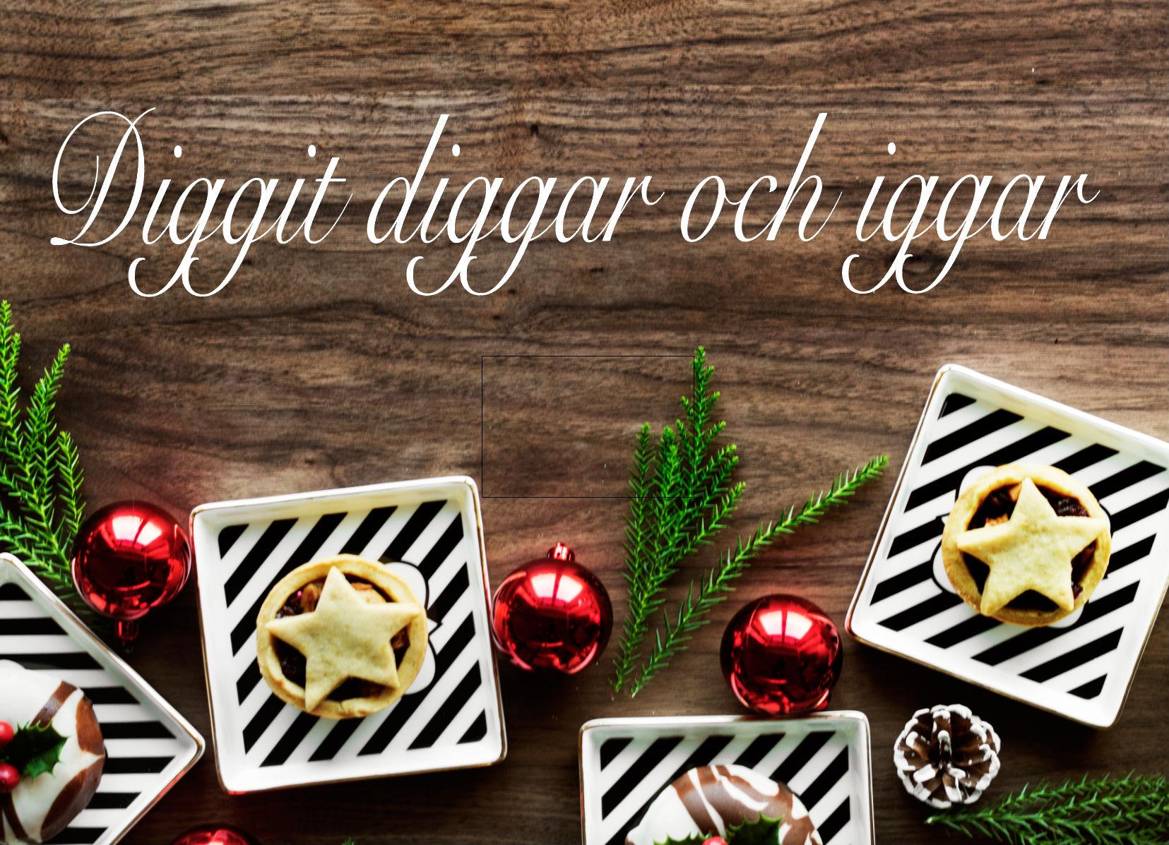 Diggit diggar och iggar- special edition Jultema!