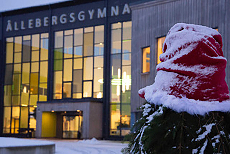 Dags för jullov på Ållebergsgymnasiet